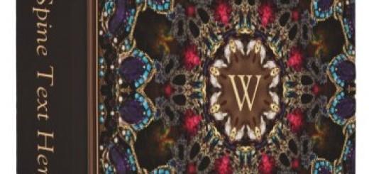 Eastern Arabesque Art Pattern Album 3 Ring Binder
