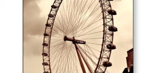 London, UK tourist attraction London Eye