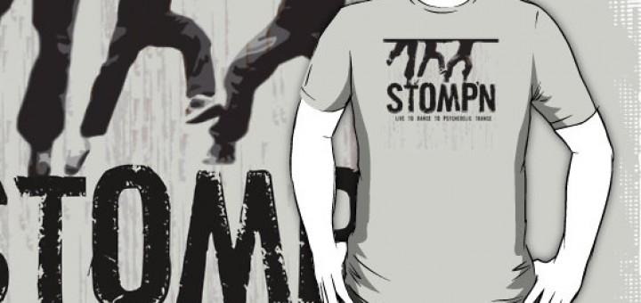 Stompin to Psytrance TShirt
