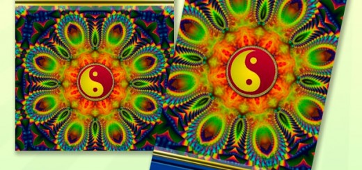 Fractal Therapy YinYang Energy Healing Business Cards