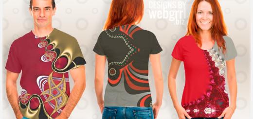 all over printing shirt designs by webgrrl