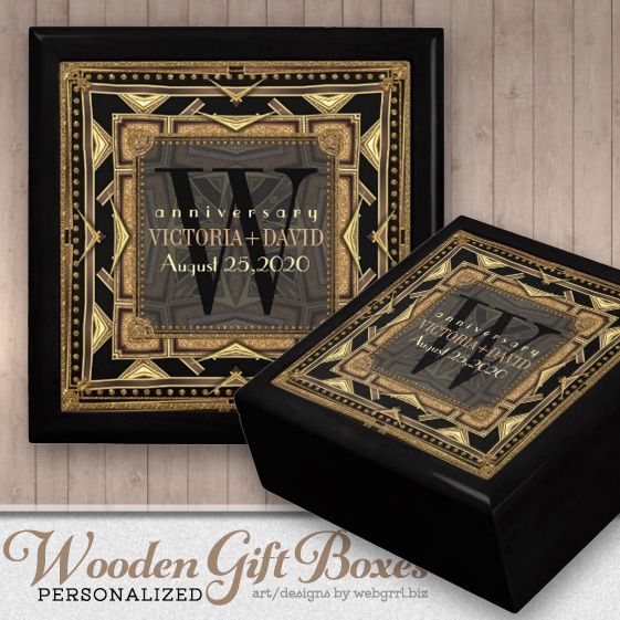 ariana_art_deco_black_gold_wedding_anniversary_box_keepsake_box