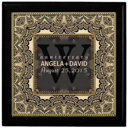 baroque_black_gold_wedding_anniversary_gift_box