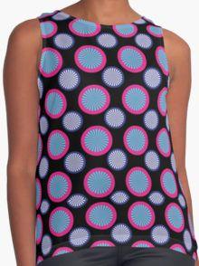 Circles-Blue-Pink-Pattern-ContrastTank